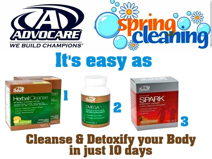Advocare Spring Cleaning | Advocare. | Pinterest ...