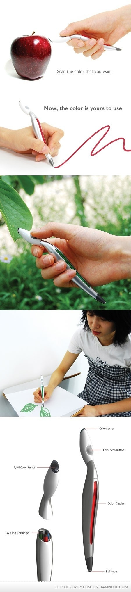 Colors of the world - Scan Pen!     Colour Scan Pen! This is awesome!!