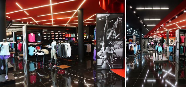 A Theater of Sporting Goods - Innovasport Flagship