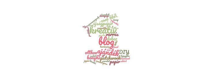 Egy éves a blog – creativvita