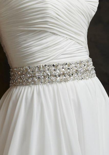 Lindos cintos para vestidos de noiva [Foto] - eu queroooooooooooo