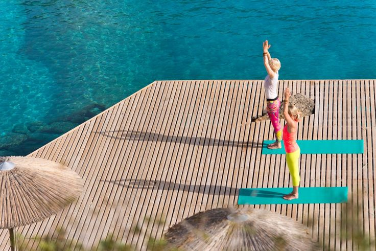 Yoga retreat at the Cove