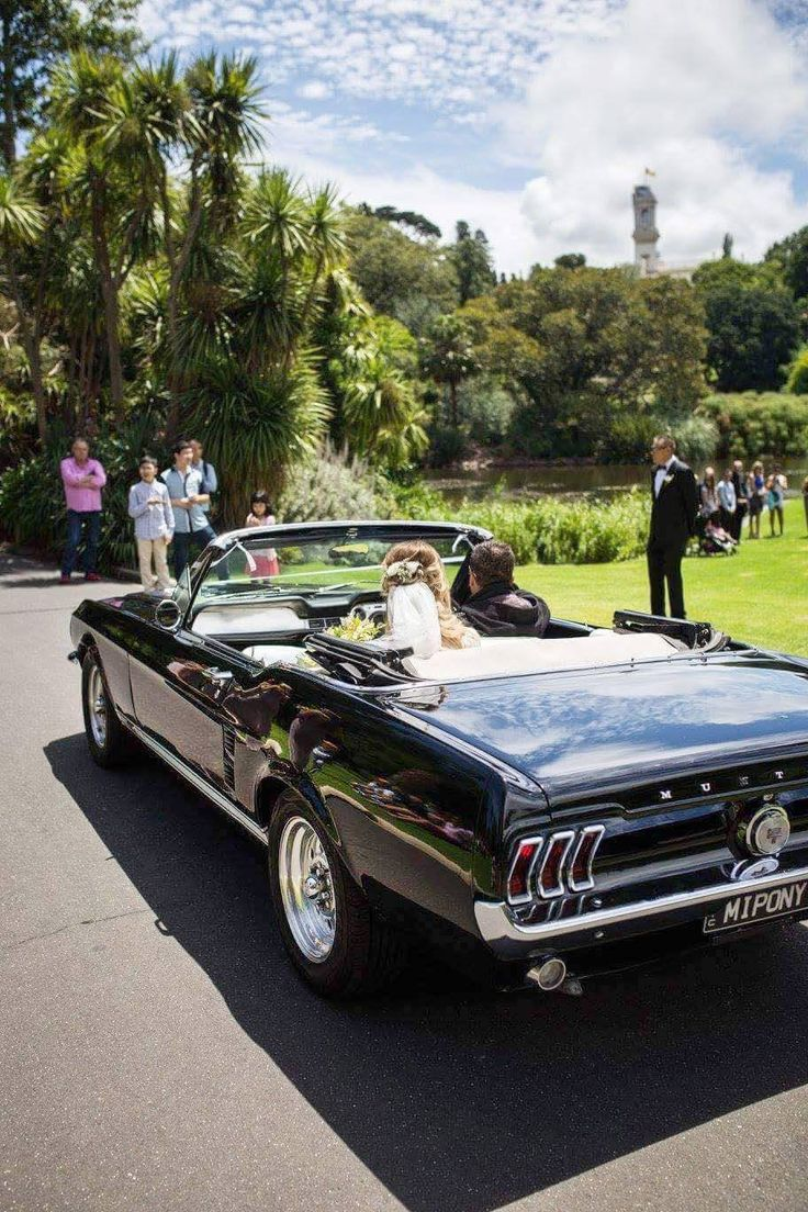 Melbourne Wedding Transport // Mustangs In Black // mustangsinblack.com.au  This Melbourne wedding car service is highly recommended for your wedding or event, by Sensation Entertainment.
