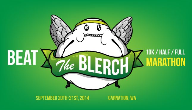 Beat The Blerch - 10k/half/full marathon series. I am DOING THIS for my first half marathon! Cannot wait!