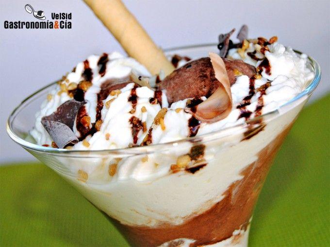 Helado de chocolate casero   – Helados