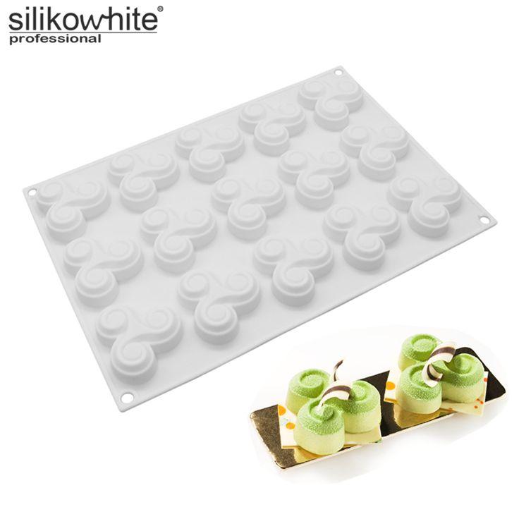 Silikowhite пальца гироскопа формы 3D силиконовые формы торт DIY мусс Пудинг шоколадный брауни десерт Кухня Формы для выпечки Мыло Формы