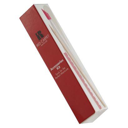 Το Accessories Kit περιέχει τα απαραίτα αναλώσιμα για την φροντίδα των νυχιών σας.      Τιμή 4,90€