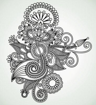 Henna Imágenes De Archivo, Vectores, Henna Fotos Libres De Derechos