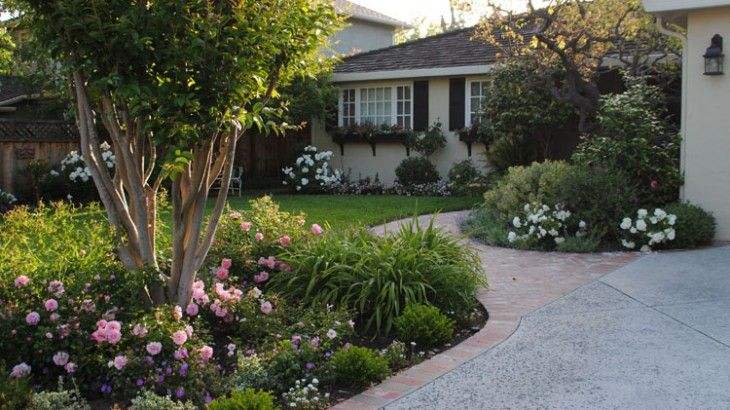 A romantic english cottage garden for southern california means using regionally appropriate for Gardens in southern california