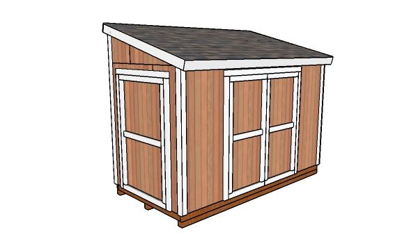 6x12 Lean To Shed Door Free Diy Plans Howtospecialist How To Build Step By Step Diy Plans Lean To Shed Diy Shed Plans Wood Shed Plans