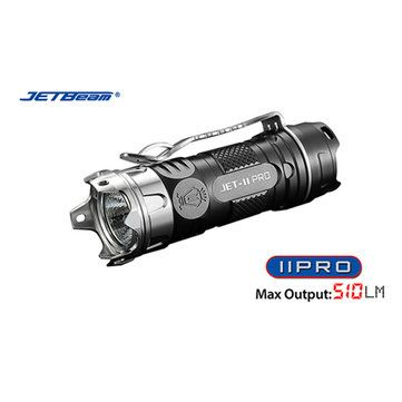 Only US$42.73, buy best JETbeam II PRO XP-L HI 510LM 16340 EDC LED Flashlight With Attack Head  sale online store at wholesale price.US/EU warehouse.