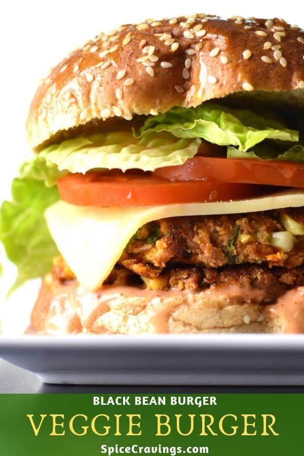 Veggie Burger Black Bean Burger