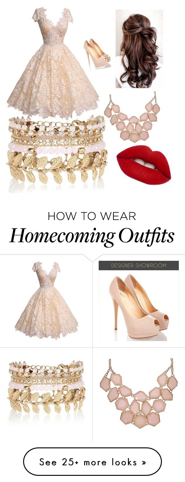 """homecoming"" by manesadriana on Polyvore featuring River Island and Lime Crime"