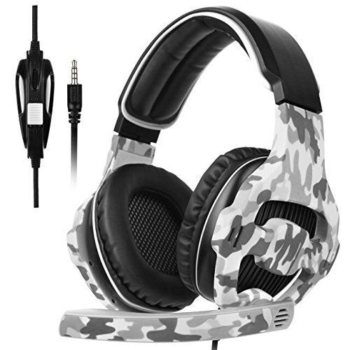 #7: SADES 810 PC PS4 New Xbox One Gaming Headset 3.5mm Jack Over-ear Headphone Stereo Sound with Microphone Multi-platform Volume Control Headset Over ear Headphone Microphone Multi platform belongs to top selling products in PC  category in USA. Click below to see its Availability and Price in YOUR country.
