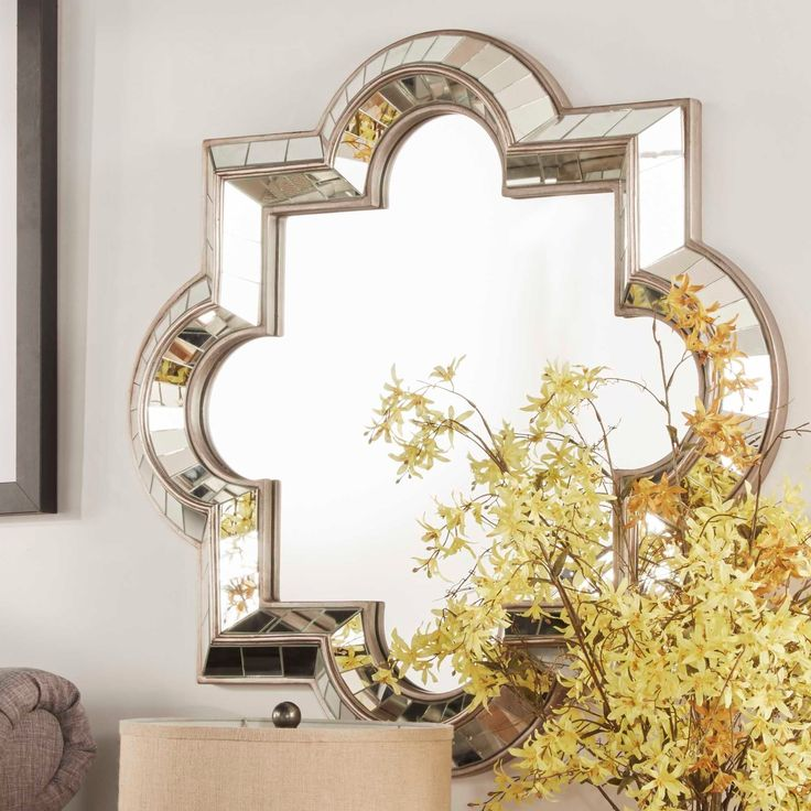 Showcase distinctive style with the Nihoa Mirror Collection. Inspired by classic Mediterranean style, this elegant mirror features a raised frame with mosaic detailing. It makes a great accent piece that suites for any style.