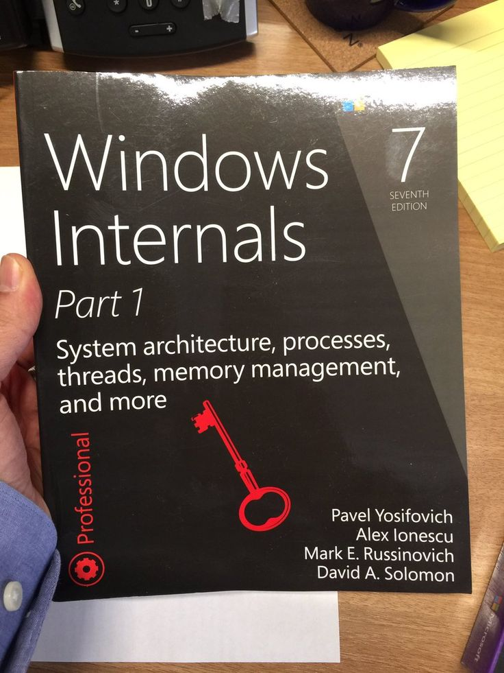 Windows internals. Part 1, System architecture, processes, threads, memory management, and more / Pavel Yosifovich ... [et al.]