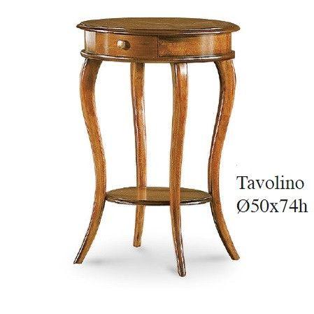 Tavolino tondo Veneto 547