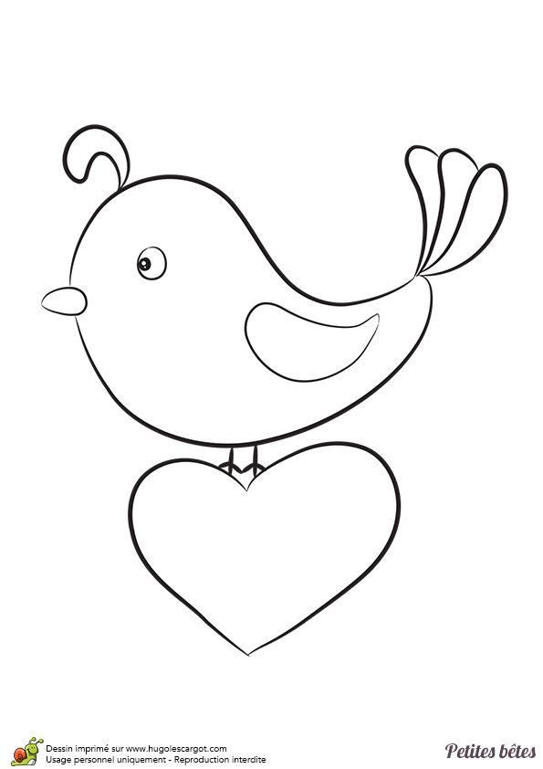 17 best images about coloriages d 39 oiseaux on pinterest for Un petit oiseau