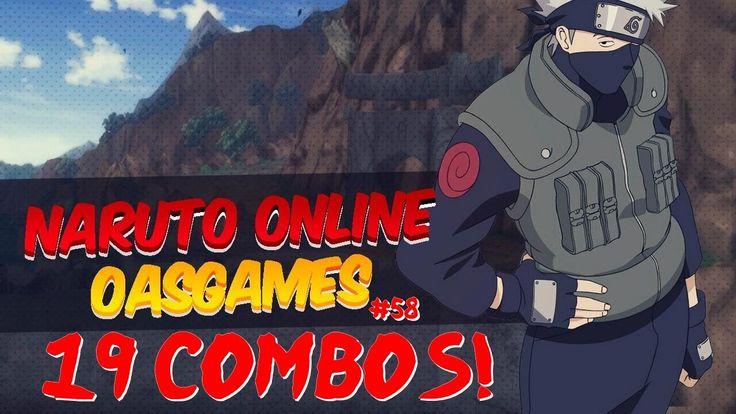 Naruto Oas MMORPG #58 | 19 COMBOS + PAIN CAMINHO DEVA