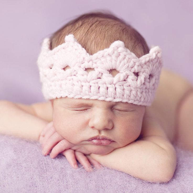 Oh my word! Cutest crochet crown ever!!