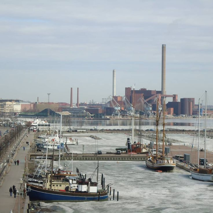 ...'Haven't been to Helsinki since last year but i hear the harbour is almost ice-free now and Spring is in the air! ..This is an old photo i meant to post before but forgot. It's a view of the capital's north harbour just before the ice melted away. . . #pohjoissatama #helsinki #finland #nordicphotos #helsingfors #finlandia #finland_photolovers #city #europe #boats #ships #thebestoffinland #visithelsinki #lovehelsinki #photooftheday #kuva #foto #nofilter  #ourfinland #harbourlife…