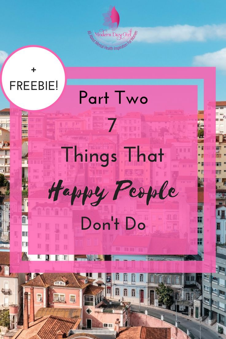 Want to know the secret to being happy? What do happy people do that we don't? Read more here - regardless of anxiety/mental health.