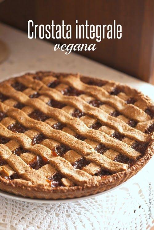 Crostata integrale vegana