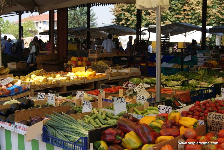 Mercato  - the food market.