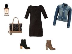 Black lace dress by glami