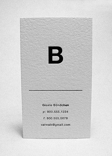 Black ink letterpress printed on white cotton paper. This card can be personalized and ordered from The Mandate Press at the link below. 250 cards for only $95. store.themandatepress.com/the-runway