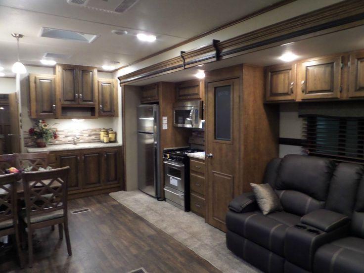 New 2016 CrossRoads RV Hampton HT400FL Destination Trailer at Lovesick Lake RV Sales | Burleigh Falls, ON | #489