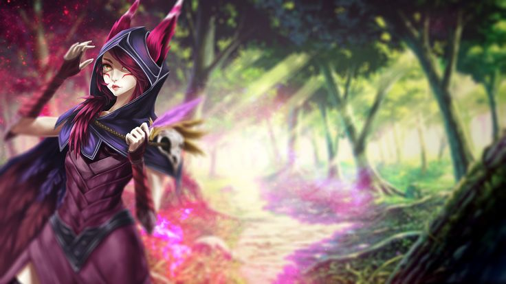 Xayah Wallpaper | League of Legends
