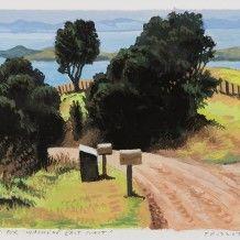 Study for Waiheke, East Coast, 2014