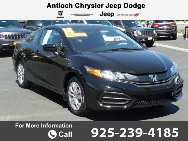 2014 *Honda*  *Civic* *Coupe* *LX* Call for Price  miles 925-239-4185 Transmission: Automatic  #Honda #Civic Coupe #used #cars #AntiochChryslerJeepDodgeRam #Antioch #CA #tapcars