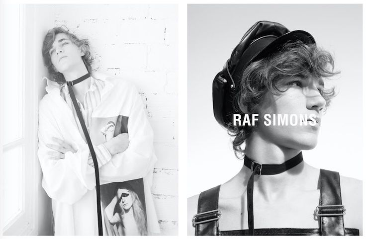 Raf Simons Spring/Summer 2017 Campaign - Fucking Young!