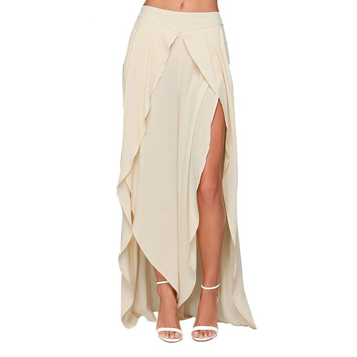 25  best ideas about Chiffon maxi skirts on Pinterest | Diy maxi ...