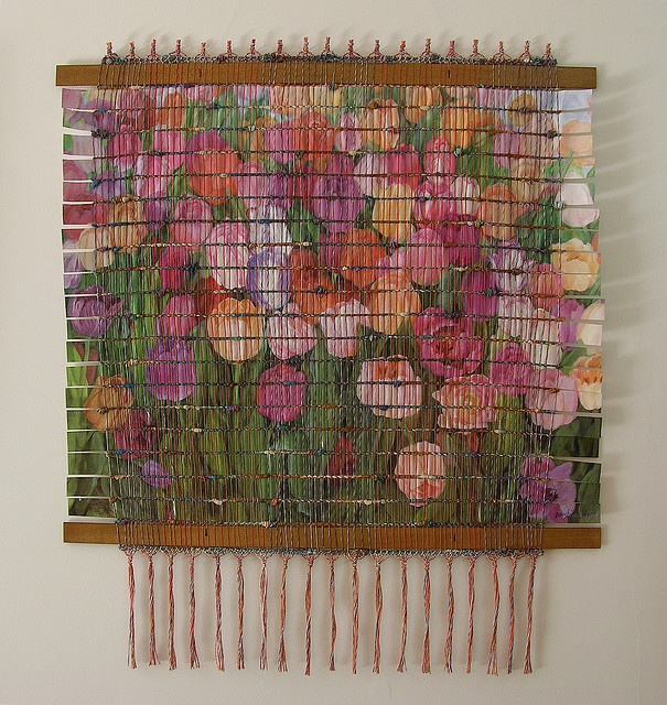 Tulip Tapestry by Peggy Dembicer, via Flickr