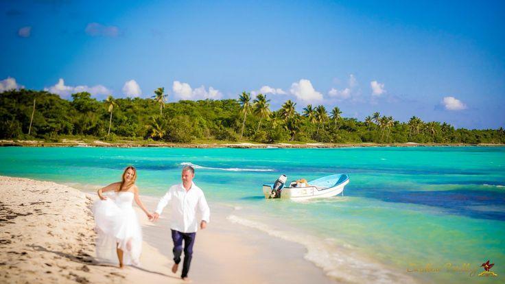 Wedding photosession at Saona Island