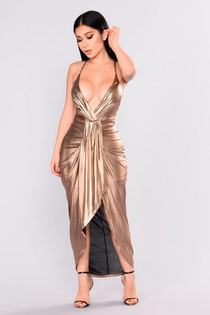 Bronze Dresses for Women