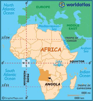 In Africa, most Europeans were confined, because of climate, disease, geographical barriers, and African strength, to coastal trading forts. The exceptions were in Angola and South Africa. The Portuguese sent disruptive slaving expeditions into Angola from established coastal centers.