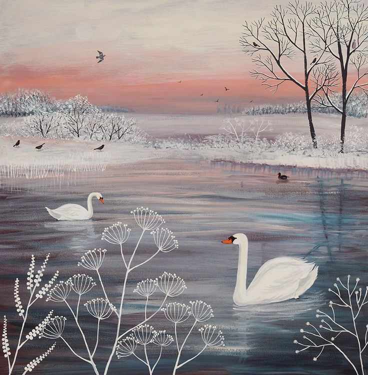 'Winter Serenity' by Jo Grundy