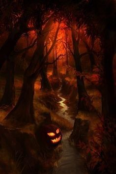 Halloween. Something like this could be fun to paint