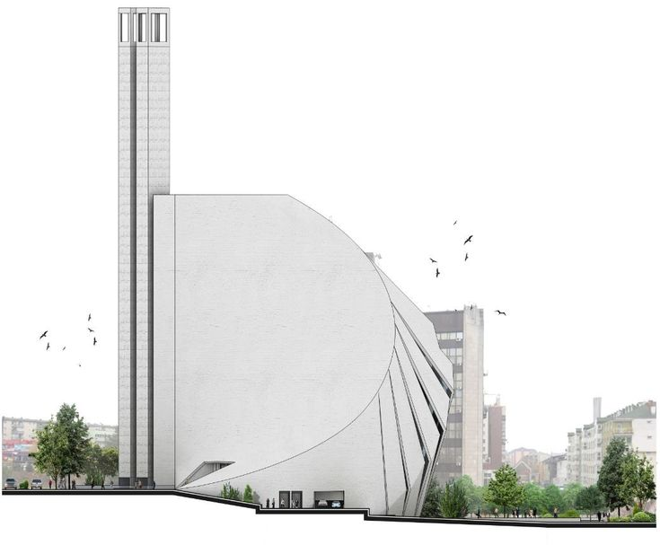 Gallery - Central Mosque of Pristina Competition Entry / Tarh O Amayesh - 11