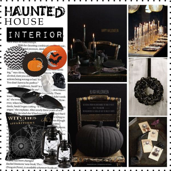 """Haunted House"" by veronikasinterior on Polyvore"