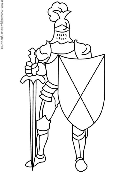 55 best Castles Dragons Knights Coloring Pages images on Pinterest