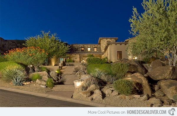 15 best images about desert landscaping front yard and for Desert landscape design ideas