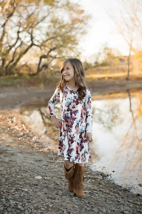 Online shopping, Online boutique, floral dress, dress,  fashion, ryleigh rue, boutique, kids clothing