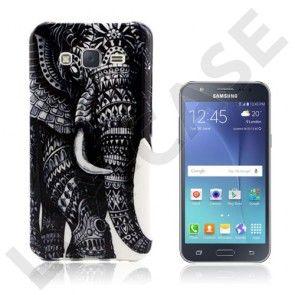 Westergaard cover til Samsung Galaxy J5 - Sort elefant