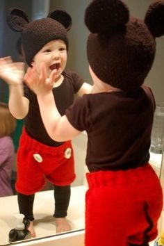A Mickey Mouse Costume For Toddlers: