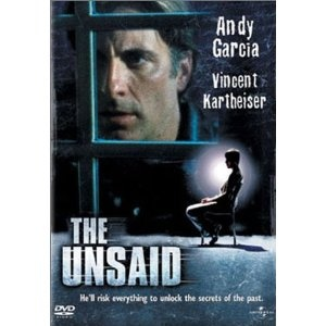 """The Unsaid"" is a thriller/drama film directed by Tom McLoughlin and starring Andy García. Shot in Regina, Saskatchewan.  My dad and I were in it as extras!"